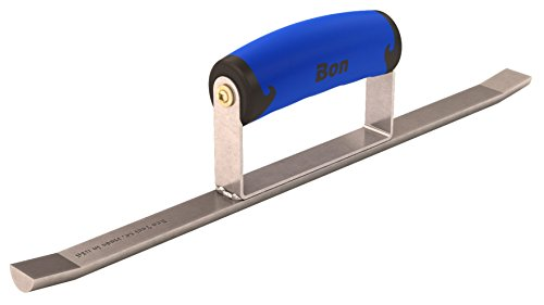 Bon 21-314 14-Inch by 3/4-Inch Half Round Sledrunner with Comfort Grip Handle