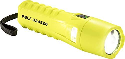 Peli Light 3345Z0 3345 ATEX Zone 0 - Linterna LED para bomberos, color amarillo