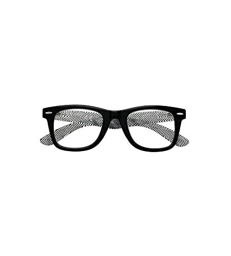 ZIPPO - Occhiali da Lettura unisex Neri Black 31Z-B16-BLK (+2.00 Diottrie)