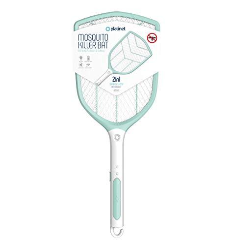 Platinet PRMB3839 elektrische Fliegenklatsche mi tLED Licht effektive Spannung für Insekten und sicher für den Menschen