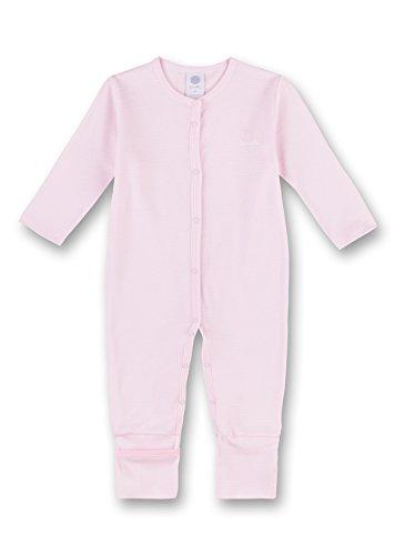 Sanetta Baby-Mädchen Overall Schlafstrampler, Pink (Magnolie 3609.0), 80