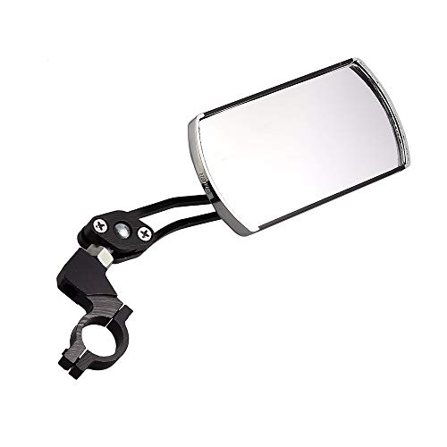 AILOVA Fahrrad-Rückspiegel, flexibler Rückspiegel für Lenker, Faltzelt, Reflektor mit 360 Grad, Zubehör für Fahrräder, Radfahrer, Rollstuhl