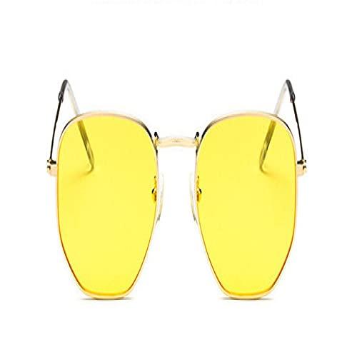 Aiong Gafas de Sol, Gafas de Sol de Metal para Mujer, Gafas de conducción clásicas para Mujer uv400