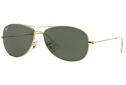 Oro Ray-Ban Cabina Gafas De Sol Arista - Rb3362 001 56 Rb3362 001 56, 001/3E-Arista/Smoke Rose Mirr, 56
