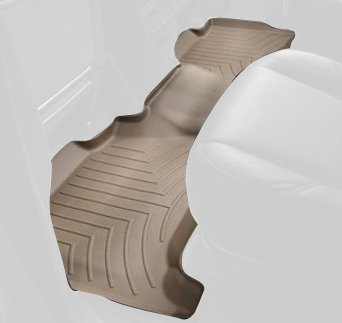 WeatherTech Rear FloorLiner for Select Land Rover Range Rover Sport Models (Tan) :