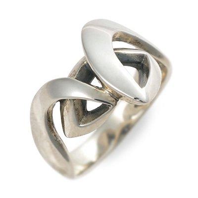 [アイジェルナ] シルバー リング 指輪 エンゲージリング メンズ 10.0号 VIB-003R-10