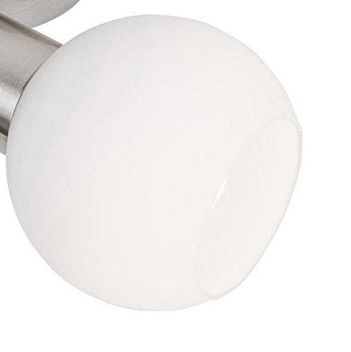 Lampenschirm Loxy E14, Glas, Ersatzglas, Schirm, Ersatzschirm, Lampenglas für Pendellampe, Tischlampe, Fluter, Leuchte