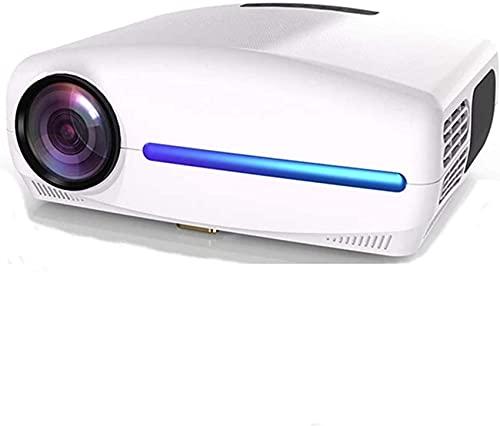 Proyector LED Full HD 1080P, Mini proyector de Video portátil con keyston Digital 4D, Cine en casa Inteligente WiFi, Proyector básico