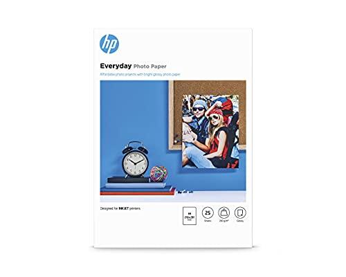 Papier photo HP Everyday, brillant, 200g/m2, A4, 25feuilles
