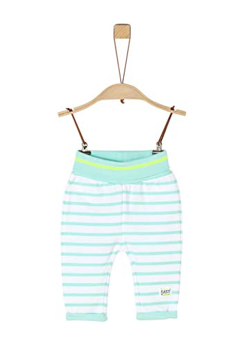 s.Oliver Junior Baby-Jungen 405.10.004.18.183.2020526 Hose, Blau (60G8 Angel Blue Stripes), 68 EU
