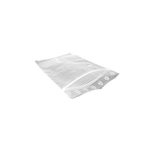 Lot de 100 sachets Zip Plastique 4x6 cm - 40x60 mm