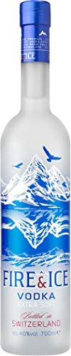 Fire & Ice Swiss Original Vodka Filtered With Platinum 1x70 CL 40%