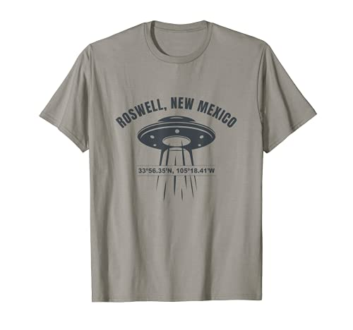 Roswell New Mexico UFO Alien UAP Camiseta