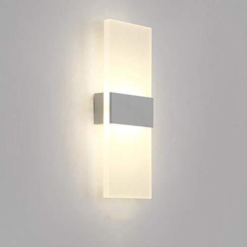 CLX outdoor wandlamp, LED, met bewegingsmelder en staal, schemerschakelaar buitenshuis, licht van roestvrij staal