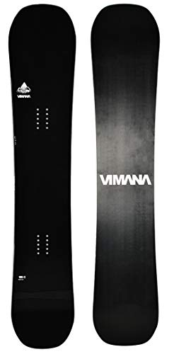 Vimana Continental Twin Camber Wide V2 Snowboard 2020 Black, 156W