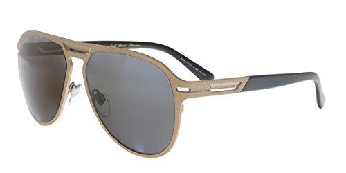 Bulgari 0BV5043TK 200681 57 Gafas de sol, Dorado (Matte Pink Gold Plated/Polargrey), Hombre