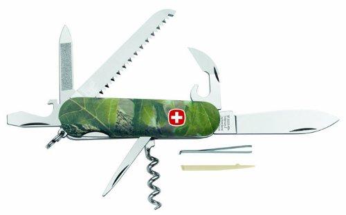 Wenger Messer Schweizer Taschenmesser, Modell Hardwoods 13, 9-teilig