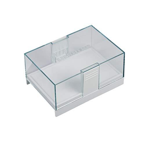 Liebherr 7420306 ORIGINAL Butterdose Abstellfach Ablegeschale Behälter Schale Kasten weiß transparent Kühlschrank