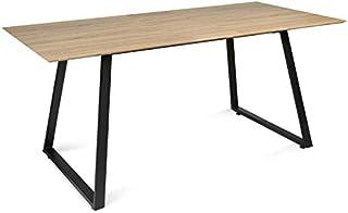 IDMarket - Table à Manger Havana Extensible 6-8 Personnes Design Industriel 150/180 cm