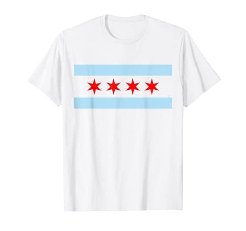 Chicago Flag Home Love Family T-Shirt