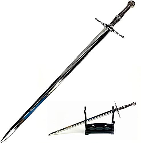 The Witcher - Geralt von Rivia, coupe-papier avec support, 21,6 cm