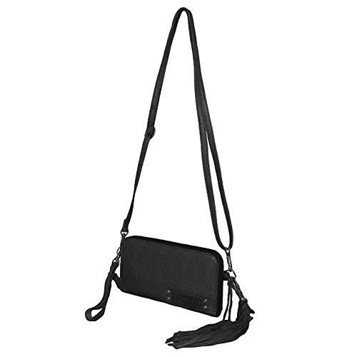 Bag2Bag Schoudertas/Clutch/Portemonnee New Jackson Zwart