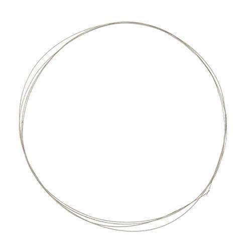 N / A Accesorios for Herramientas eléctricas, 0.26mm x 1m galvanizado Diamante Sierra de Alambre Hoja de Sierra de Diamante Circular VIO la lámina Hojas de Sierra