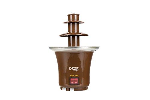 Italian Design IDECUSWEET01 Chocolate Fountain 65, 65w-IDECUSWEET01, Marron