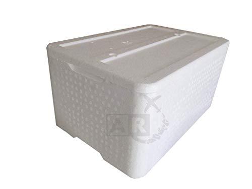 A/R - Caja térmica de poliestireno de 30 kg / 30 l - Caja térmica para transportar alimentos