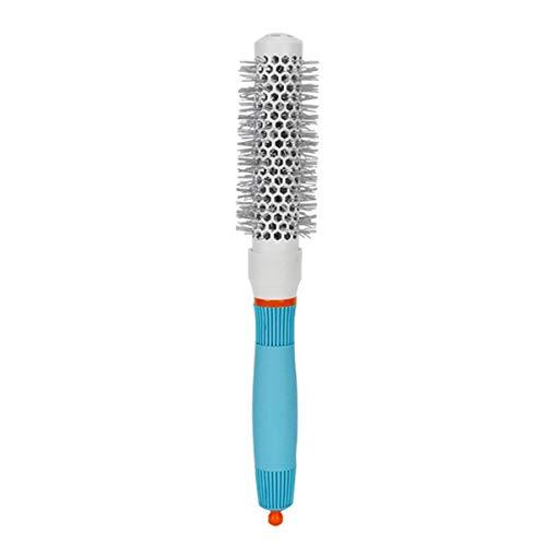 HaiQianXin Cepillo de Pelo de cerámica Barril Redondo Cepillo de Pelo Hierro Resistente al Calor Peine Radial Rizado El enderezarse (Size : 27 * 6cm-53#)