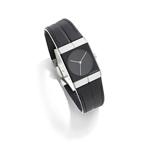 Jacob Jensen Damen Analog Quarz Uhr mit Leder Armband 240