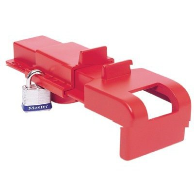 North Safety 068-BS04R B-Safe Butterfly Valve Lockouts from NORTH SAFETY