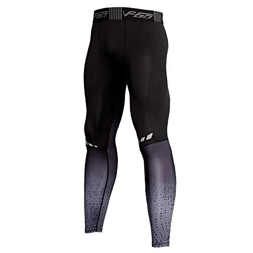 Mallas Deportivas de compresión para Hombre Pantalones de Ciclismo para Gimnasio, Ropa Deportiva Transpirable para Entrenamiento Mallas para Correr Pantalones de Entrenamiento Profesional Yoga