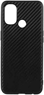 OnePlus Nord N100 Case Cover Carbon Fiber Design TPU Black Soft Slim Flexible Shock Absorbent Protective Case for OnePlus ...