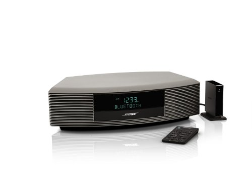Bose Wave Radio III with Bluetooth Music Adapter- Titanium Silver
