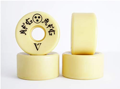 NFG MFG Vee Shape 58 Skateboard Wheels (Set of 4)