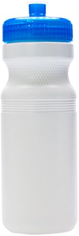 Logotastic 5895 WE4 Water Bottle (100 Pack), White bluee, 24  16.5 oz 24 oz