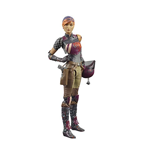 Star Wars The Black Series Sabine Wren Toy 6-Inch-Scale Rebels Collectible Action Figure, Toys for Kids Ages 4 and Up