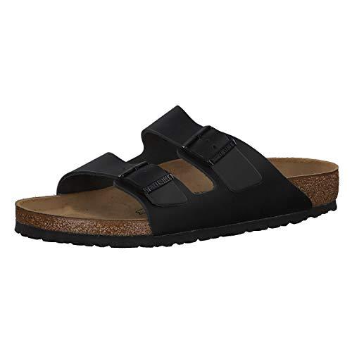 Birkenstock Schuhe Arizona Naturleder Normal Black (051191) 40 Schwarz