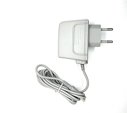Alimentatore per Nintendo 3DS - 3DS XL - DSi Caricabatterie Rete Presa Muro 220v Casa AC