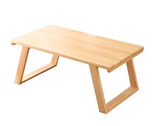 Tablas de café pequeña sala de estar Tabla del ordenador portátil de la sala de estar pequeña mesa de centro, la bahía de estilo japonés Tatami Ventana mesa desmontable mesa pequeña, Home Estudio Teór
