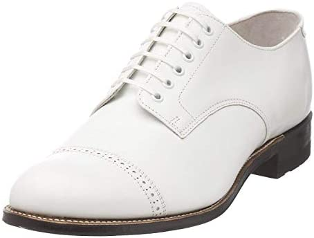 Stacy Adams Men s Madison Cap Toe Oxford White 10 5 D product image