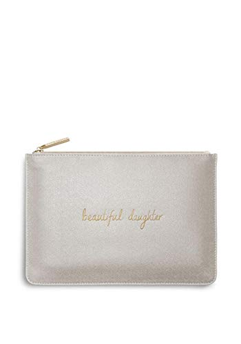 Katie Loxton Perfect Pouch Beautiful Figlia Champagne Shimmer