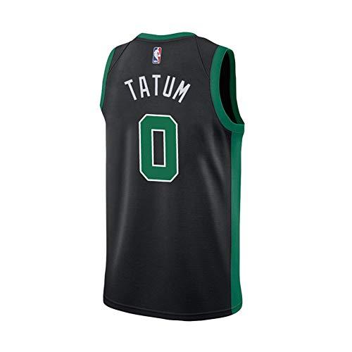 Tatum - Camiseta de manga corta para hombre, color negro