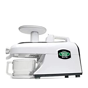 Tribest Green Star Elite GSE-5000-220V Jumbo Twin Gear Juice Extractor, 220V, NOT FOR USA USE |