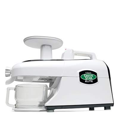 Tribest Green Star Elite GSE-5000-220V Jumbo Twin Gear Juice Extractor, 220V, NOT FOR USA USE