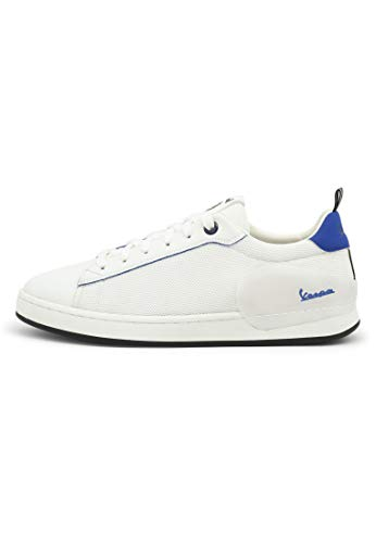 Vespa - Zapatillas bajo Freccia con Cordones, para Hombre y Mujer (EU 45)