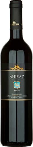 Vinakoper Shiraz 0,75 lt aus Istrien - EINWEG
