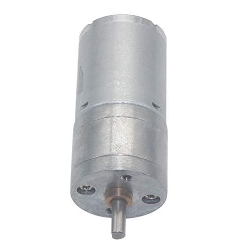 Motor eléctrico Motor engranado DC Motor 6V 12V 24V Torque alto motor...