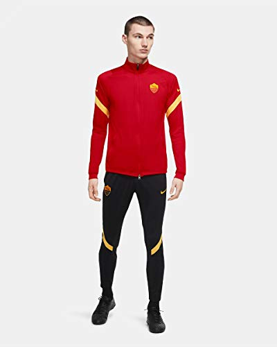 Nike ROMA M NK DRY STRK TRK SUIT K Tuta, Uomo, university red/black/university gold/(university gold) (no sponsor-plyr), 2XL